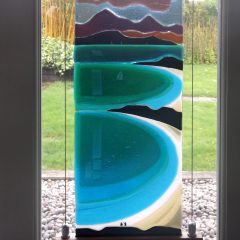 Large Panel - Fused Glass Art by Graham Muir - Gramble Glass Scotland