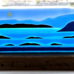 Tayvallich Bay - Fused Glass Graham Muir | Paisley Scotland
