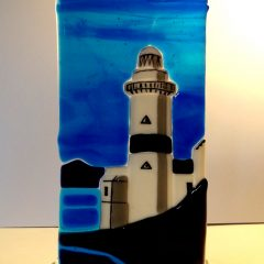 Cloch Lighthouse - Fused Glass Graham Muir | Paisley Scotland