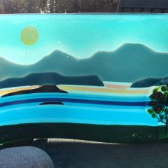 Loch Lomond - Fused Glass Graham Muir | Paisley Scotland