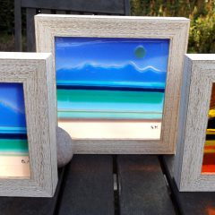 Mini Arran pictures - Fused Glass Graham Muir | Paisley Scotland