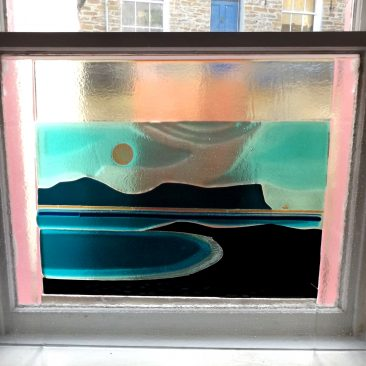 Stromness Bay - Fused Glass Graham Muir | Paisley Scotland