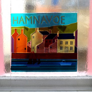 Hamnavoe (Stromness) - Fused Glass Graham Muir | Paisley Scotland