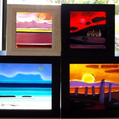 Mini Scottish pictures - Fused Glass Graham Muir | Paisley Scotland
