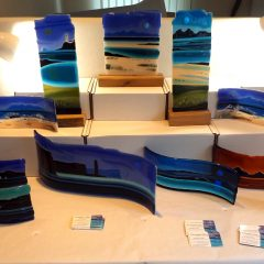 Accord Hospice Annual Shows - Fused Glass Graham Muir | Paisley Scotland
