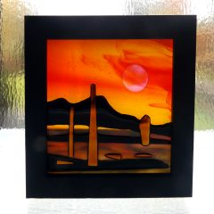 Arran Machrie Moor - Fused Glass Graham Muir | Paisley Scotland