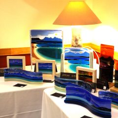 Accord Hospice Annual Shows - Fused Glass Art by Graham Muir