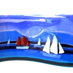 Orkney Boats - Fused Glass Graham Muir | Paisley Scotland